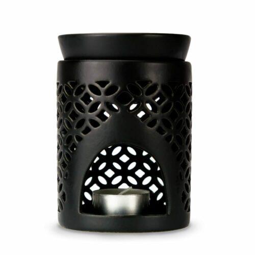Naturlig olie duftlampe sort