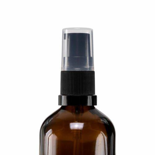 Doseringspumpe fra Naturligolie PP18 til tom glasflaske