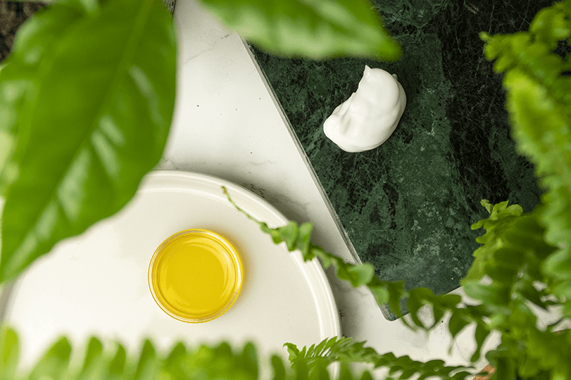 Olie vs creme blog indlæg af naturligolie