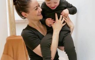 tina lykkegaard med barn