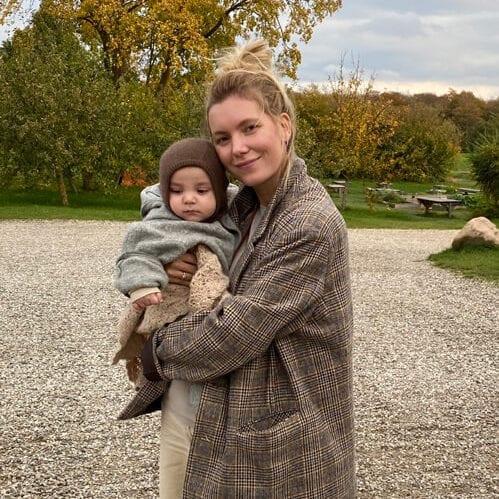 Anna Engstrøm med barn
